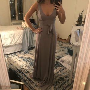 Show Me Your MuMu Dove Grey Bridesmaid Dress